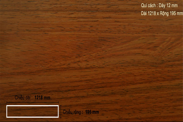 Sàn gỗ ThaiGreen TH1204
